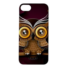 Owl Bird Art Branch 97204 3840x2400 Apple Iphone 5s/ Se Hardshell Case