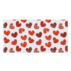 Paper Cells Heart Surface Texture 45031 3840x2400 Satin Shawl