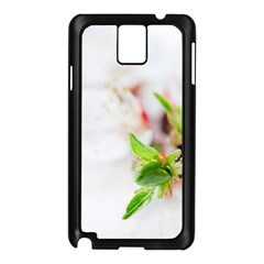 Fragility Flower Petals Tenderness Leaves  Samsung Galaxy Note 3 N9005 Case (black)