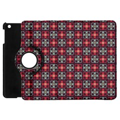Cells White Black Gray  Apple Ipad Mini Flip 360 Case