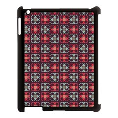 Cells White Black Gray  Apple Ipad 3/4 Case (black)