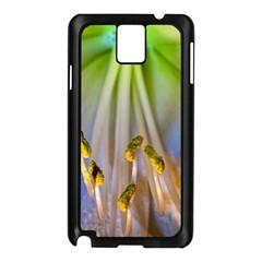 Flower Petals Stamens Samsung Galaxy Note 3 N9005 Case (black)