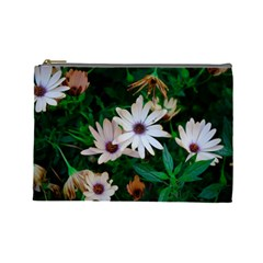 Garden Flowers Cosmetic Bag (large)