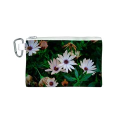 Garden Flowers Canvas Cosmetic Bag (s)