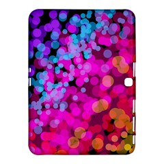 Colorful Community Glare Bright  Samsung Galaxy Tab 4 (10 1 ) Hardshell Case
