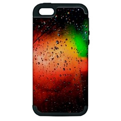 Cool Rush 4k Abstract Wallpapers Apple Iphone 5 Hardshell Case (pc+silicone)