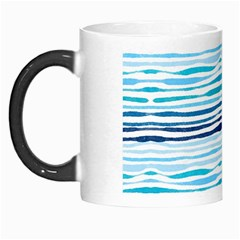 Watercolor Blue Abstract Summer Pattern Morph Mugs