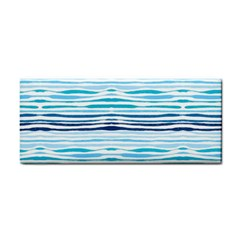 Watercolor Blue Abstract Summer Pattern Cosmetic Storage Cases