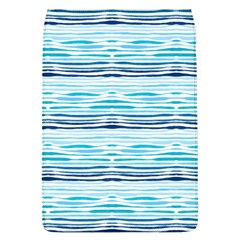 Watercolor Blue Abstract Summer Pattern Flap Covers (l)