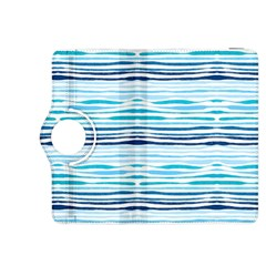 Watercolor Blue Abstract Summer Pattern Kindle Fire Hdx 8 9  Flip 360 Case