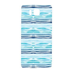 Watercolor Blue Abstract Summer Pattern Samsung Galaxy Alpha Hardshell Back Case