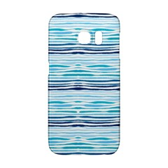 Watercolor Blue Abstract Summer Pattern Galaxy S6 Edge