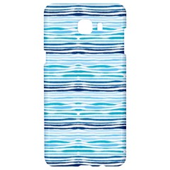 Watercolor Blue Abstract Summer Pattern Samsung C9 Pro Hardshell Case