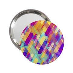 Colorful Abstract Background 2 25  Handbag Mirrors