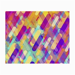 Colorful Abstract Background Small Glasses Cloth