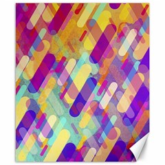 Colorful Abstract Background Canvas 8  X 10