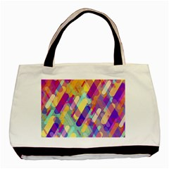 Colorful Abstract Background Basic Tote Bag (two Sides)