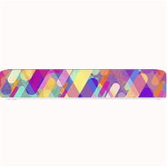 Colorful Abstract Background Small Bar Mats