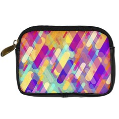 Colorful Abstract Background Digital Camera Cases