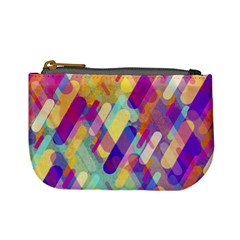 Colorful Abstract Background Mini Coin Purses