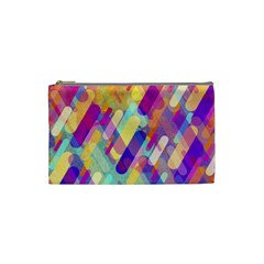 Colorful Abstract Background Cosmetic Bag (small)