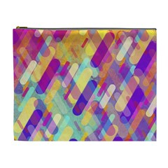 Colorful Abstract Background Cosmetic Bag (xl)