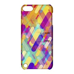 Colorful Abstract Background Apple Ipod Touch 5 Hardshell Case With Stand