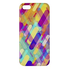 Colorful Abstract Background Apple Iphone 5 Premium Hardshell Case