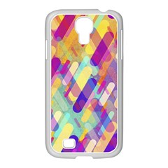 Colorful Abstract Background Samsung Galaxy S4 I9500/ I9505 Case (white)