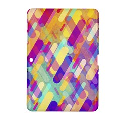 Colorful Abstract Background Samsung Galaxy Tab 2 (10 1 ) P5100 Hardshell Case