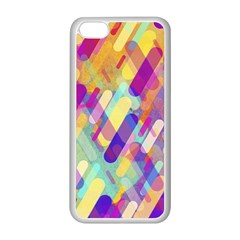 Colorful Abstract Background Apple Iphone 5c Seamless Case (white)