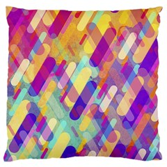 Colorful Abstract Background Large Flano Cushion Case (two Sides)