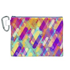 Colorful Abstract Background Canvas Cosmetic Bag (xl)