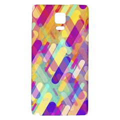 Colorful Abstract Background Galaxy Note 4 Back Case