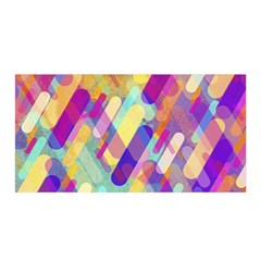 Colorful Abstract Background Satin Wrap