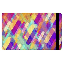 Colorful Abstract Background Apple Ipad Pro 12 9   Flip Case