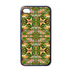 Star Shines On Earth For Peace In Colors Apple Iphone 4 Case (black)