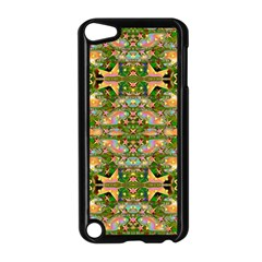 Star Shines On Earth For Peace In Colors Apple Ipod Touch 5 Case (black)