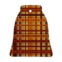 Plaid Pattern Ornament (bell)