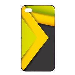 Abstraction Lines Stripes  Apple Iphone 4/4s Seamless Case (black)