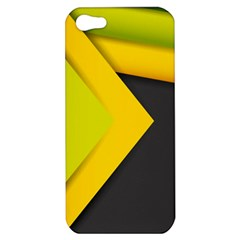 Abstraction Lines Stripes  Apple Iphone 5 Hardshell Case