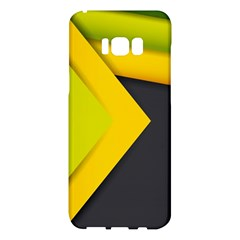 Abstraction Lines Stripes  Samsung Galaxy S8 Plus Hardshell Case
