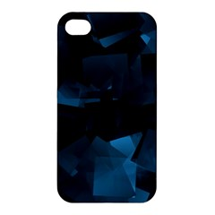 Abstraction Shapes Dark Background  Apple Iphone 4/4s Hardshell Case