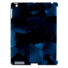 Abstraction Shapes Dark Background  Apple Ipad 3/4 Hardshell Case (compatible With Smart Cover)