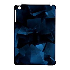 Abstraction Shapes Dark Background  Apple Ipad Mini Hardshell Case (compatible With Smart Cover)