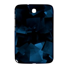 Abstraction Shapes Dark Background  Samsung Galaxy Note 8 0 N5100 Hardshell Case