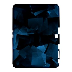 Abstraction Shapes Dark Background  Samsung Galaxy Tab 4 (10 1 ) Hardshell Case