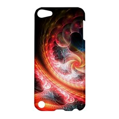 Abstraction Flowering Lines Fractal  Apple Ipod Touch 5 Hardshell Case