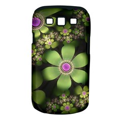 Abstraction Fractal Flowers Greens  Samsung Galaxy S Iii Classic Hardshell Case (pc+silicone)