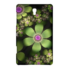 Abstraction Fractal Flowers Greens  Samsung Galaxy Tab S (8 4 ) Hardshell Case